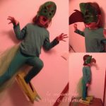 diy deguisement dinosaure