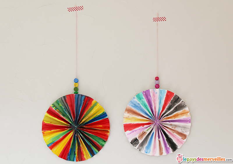 eventail decoratif DIY