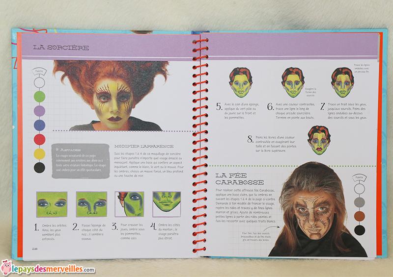 atelier maquillages un livre qui regorge d 39 id es de maquillages enfants. Black Bedroom Furniture Sets. Home Design Ideas