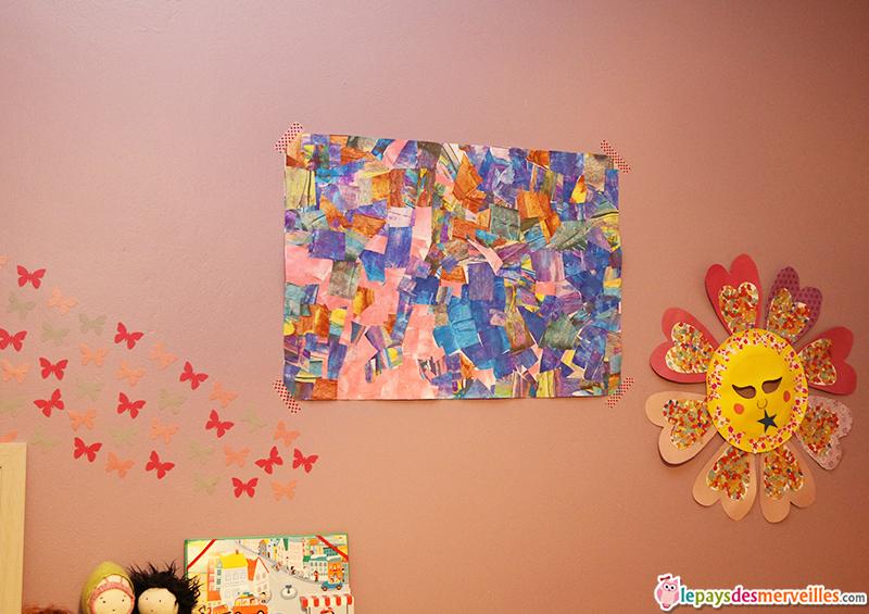 peindre avec une carte et r aliser un tableau graphique le pays des merveilles. Black Bedroom Furniture Sets. Home Design Ideas