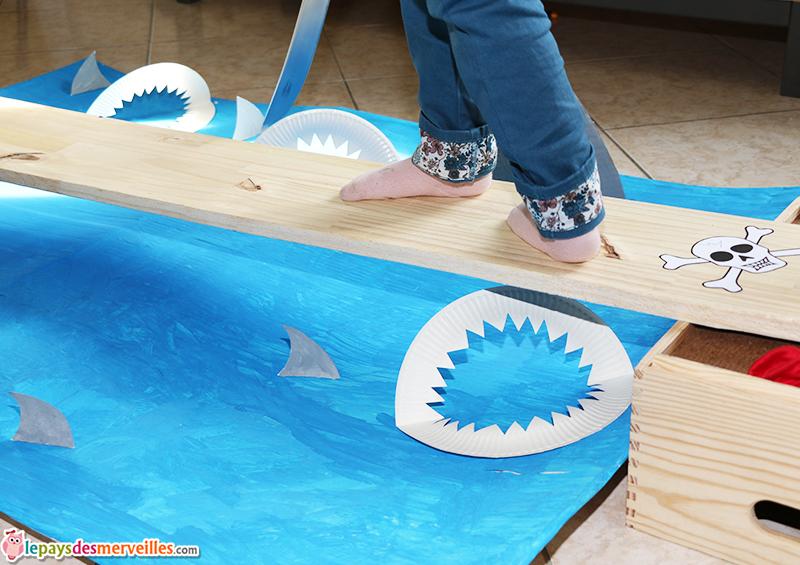 planche pirate requin