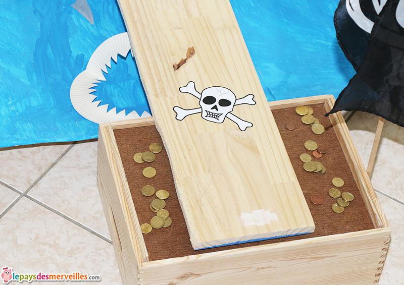 pont suspendu jeu pirate