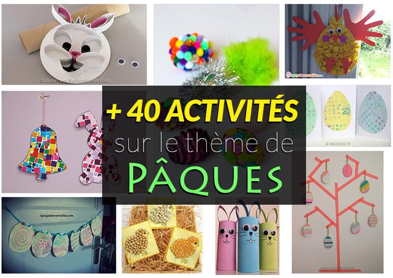 40 Activités Manuelles à Faire Avec Les Enfants Pour Attendre Pâques