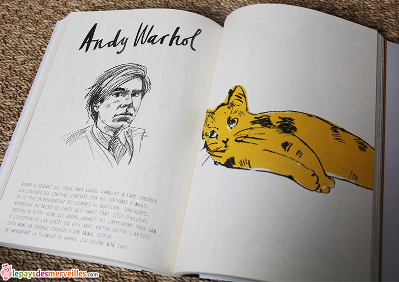 c'est toi l'artiste Andy Warhol