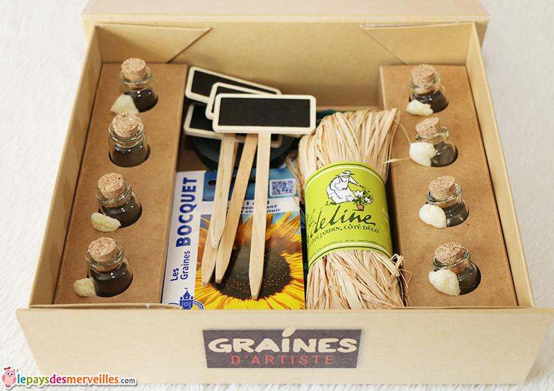 contenu box jardinage