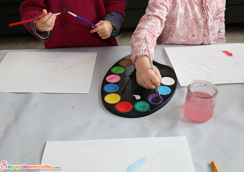 dessin automatique peinture