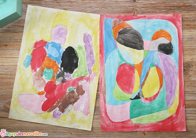 dessin facile enfant activite
