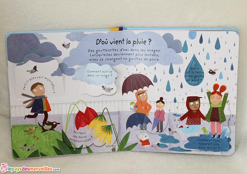 d'ou vient la pluie Usborne