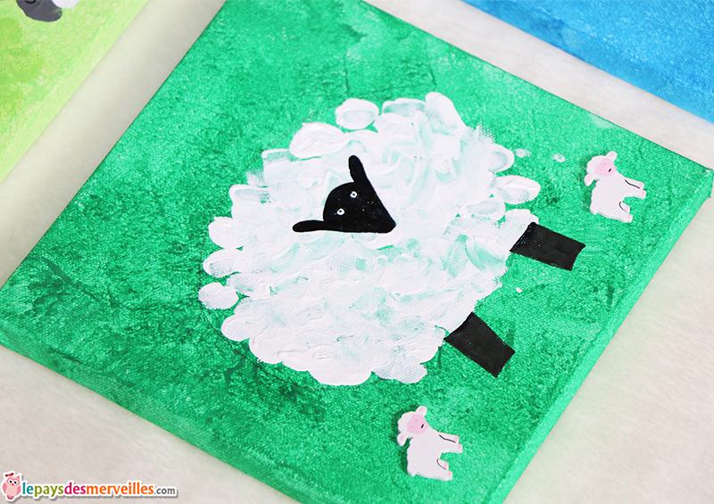 mouton empreintes de doigts