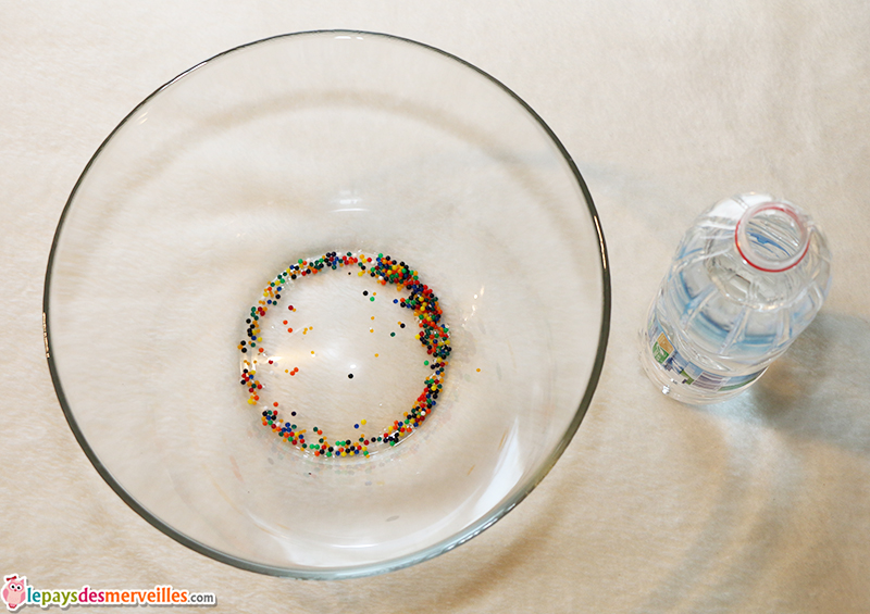perle d'eau comment faire