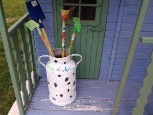 pot à lait peinture