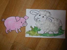 activite manuelle animaux de la ferme