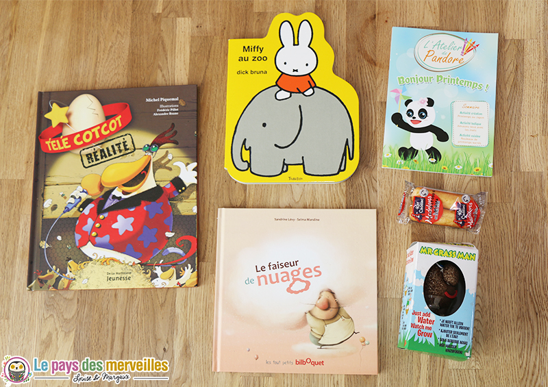 box de pandore selection livres