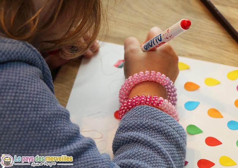 coloriage feutre giotto glitter