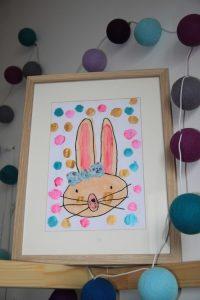 dessin enfant lapin