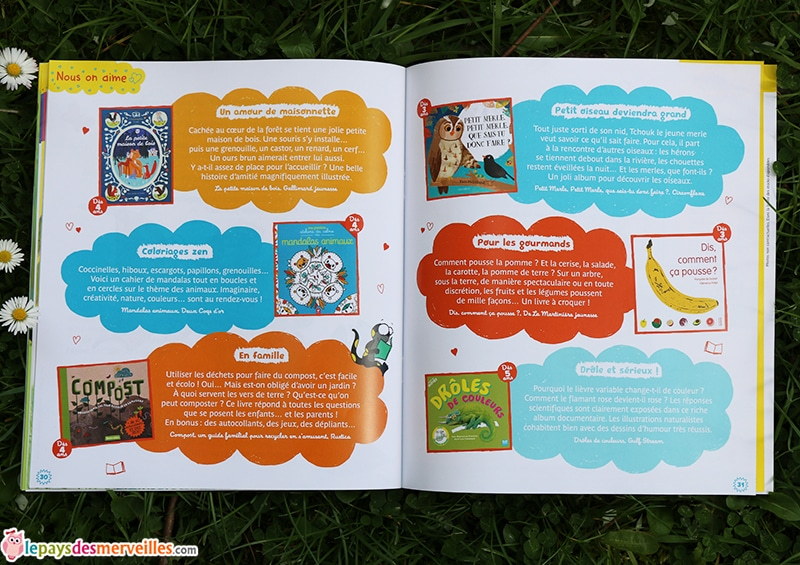 idee lecture enfant theme nature