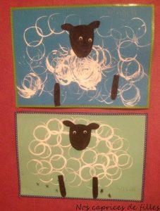 peinture mouton rouleau papier toilette