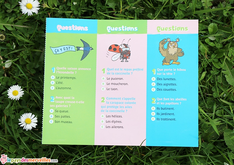 questions reponses nature