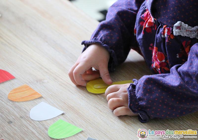 apprentissage couleurs jeu ludique
