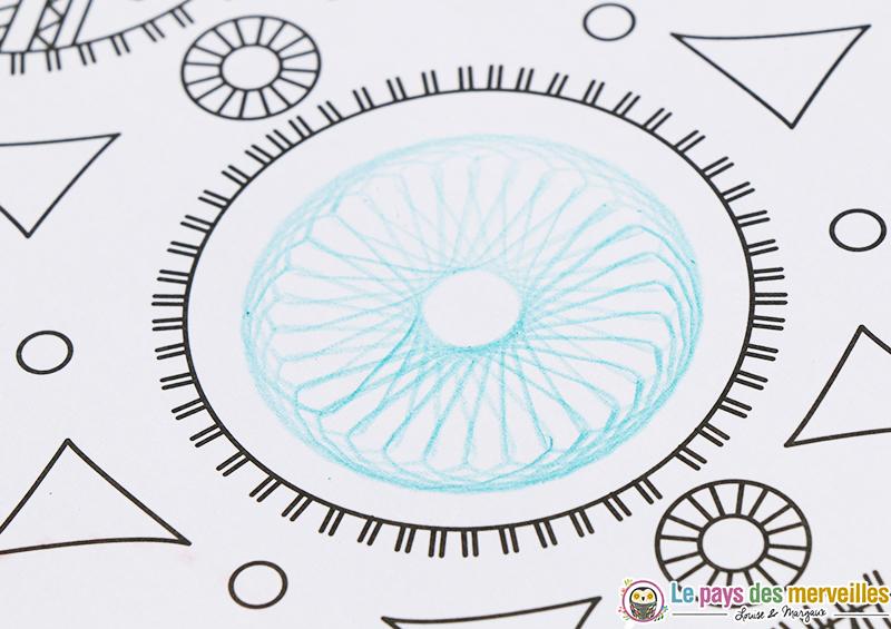 dessin spirale enfant