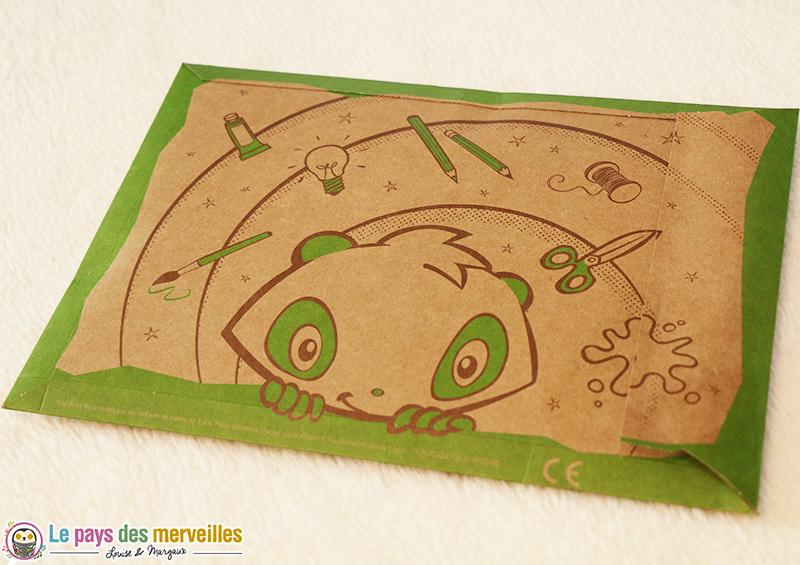 enveloppe pandacraft