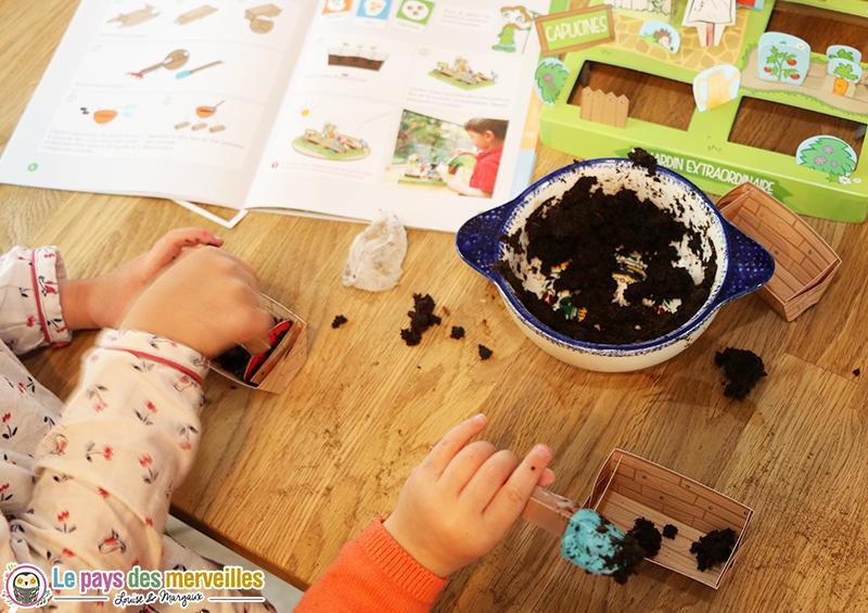 jardin miniature enfant