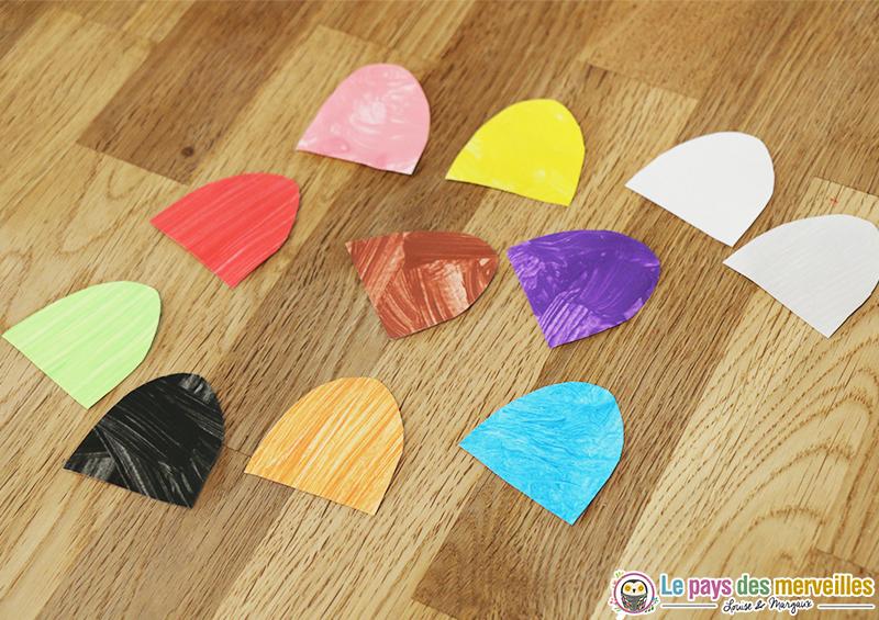 jeu couleurs plastifieuse