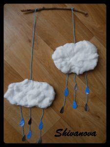 mobile goutte et nuage