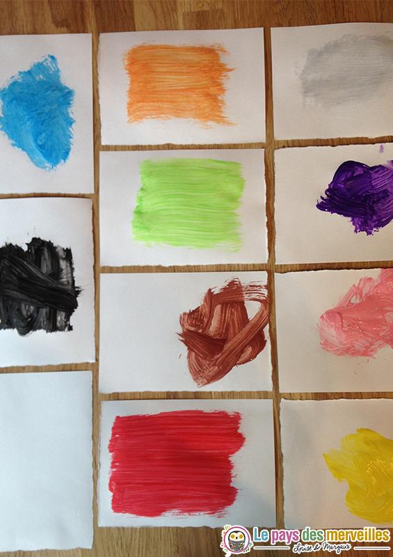 peinture couleurs