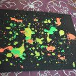 projection peinture pipette