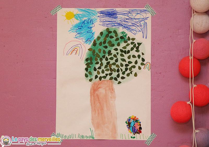 arbre feuille perforatrice