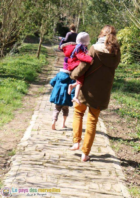 balade sensorielle famille