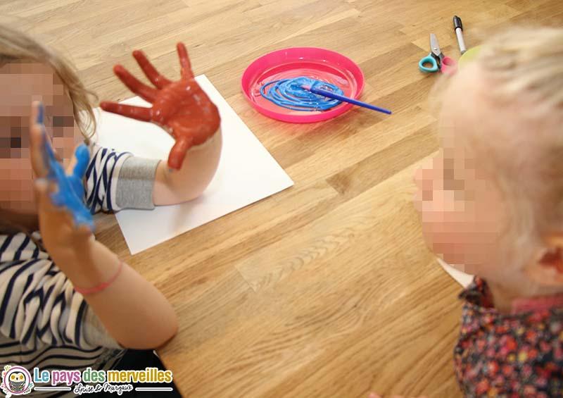 bricolage peinture fete des peres
