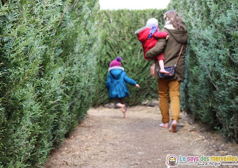 labyrinthe jardin de broceliande