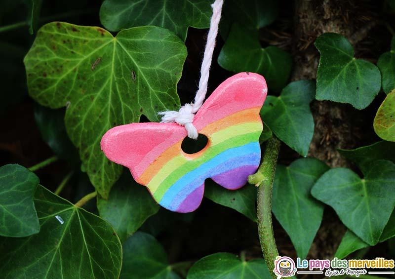 papillon arc en ciel plastiroc