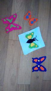 papillon feutrine