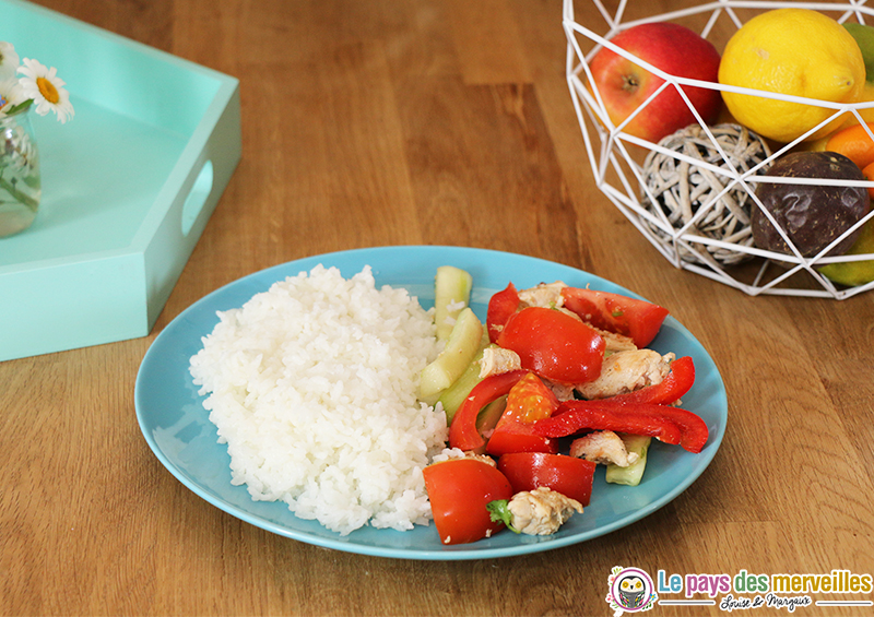 salade poulet facon thai