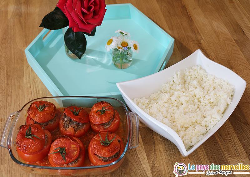 tomates farcies riz