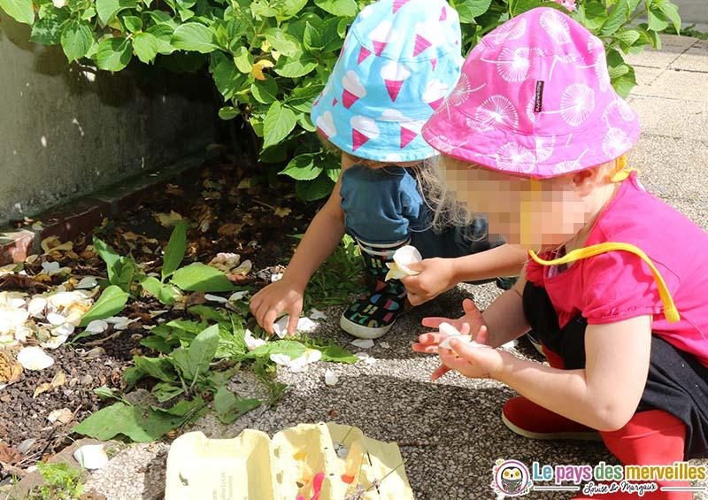 activite montessori nature