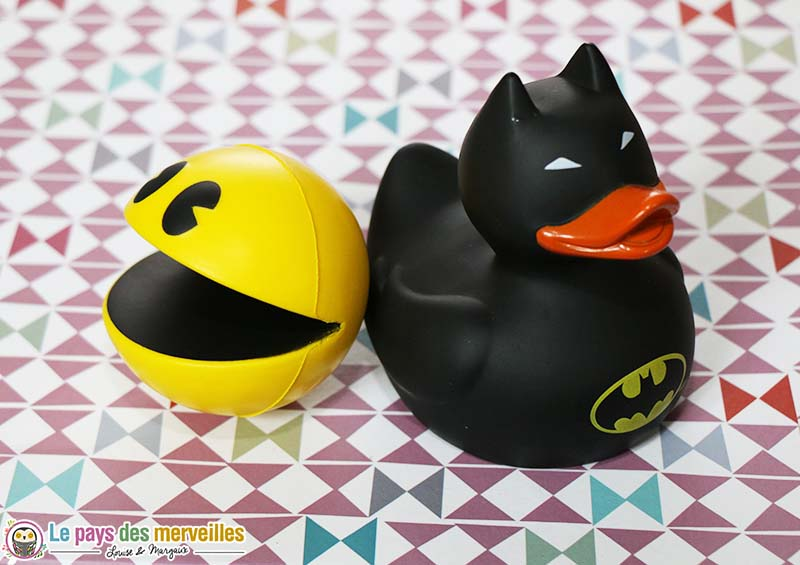 canard batman pacman antistress