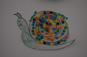escargot gommette