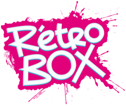 logo retro box