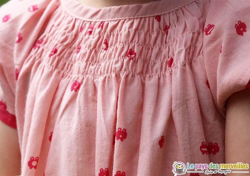 robe motif grenouille
