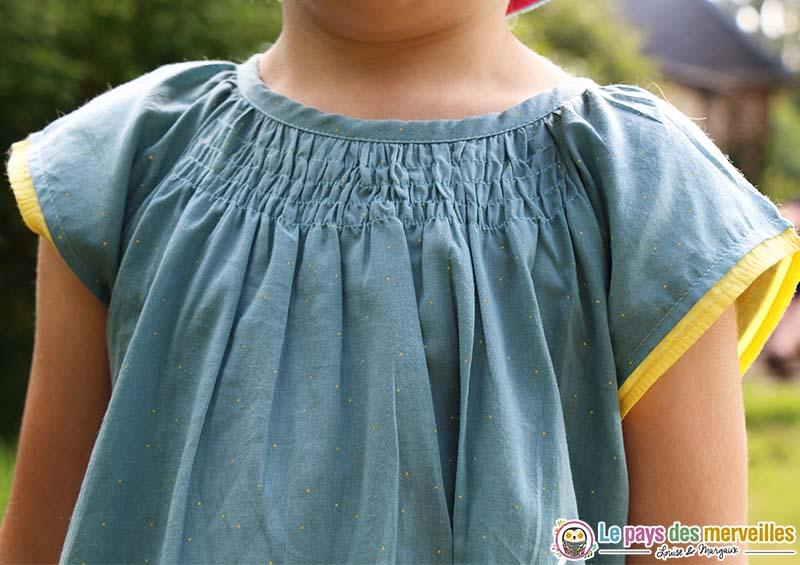robe petit pois