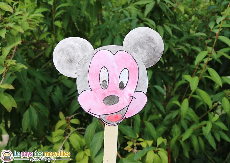 activité manuelle Mickey