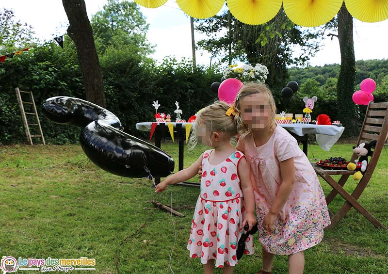 anniversaire ballon helium 2 ans