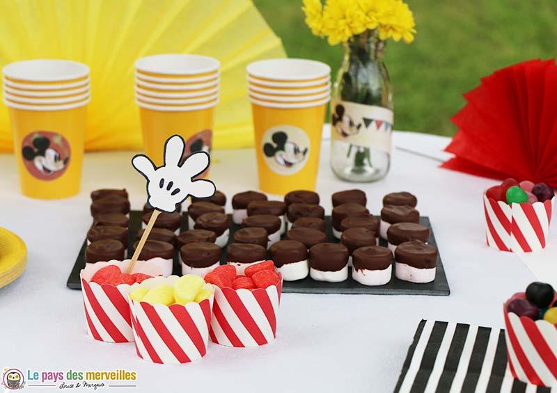 chamallow chocolat