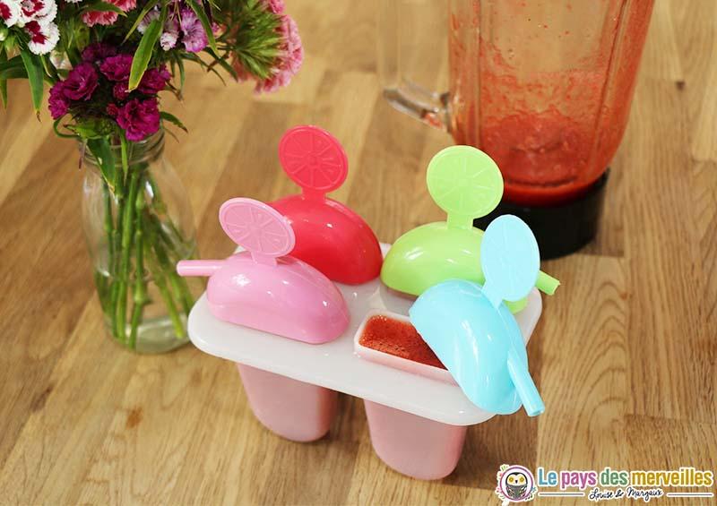 glace maison fraise