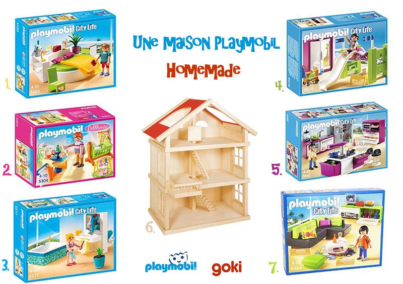 maison playmobil homemade