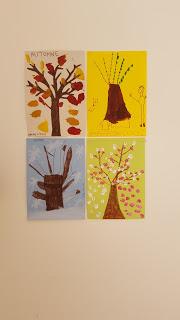 DIY arbre des saisons